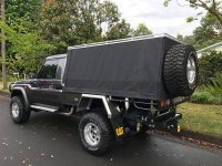 Cage and Canvas Ute Canopy:Wallaby Track Canvas