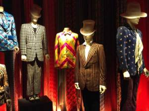 A selection of the Rolling Stones' fabulous stage costumes