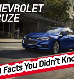 2017 chevrolet cruze 10 facts you didn t know  [ 2000 x 1498 Pixel ]