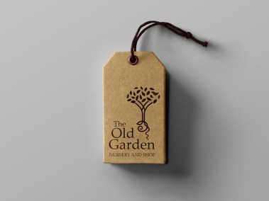 The Old Garden - Swing Tag