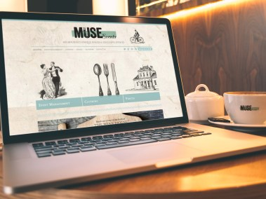 MUSE Events Website Design