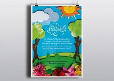 St Andrews Playgroup – Promotional Poster