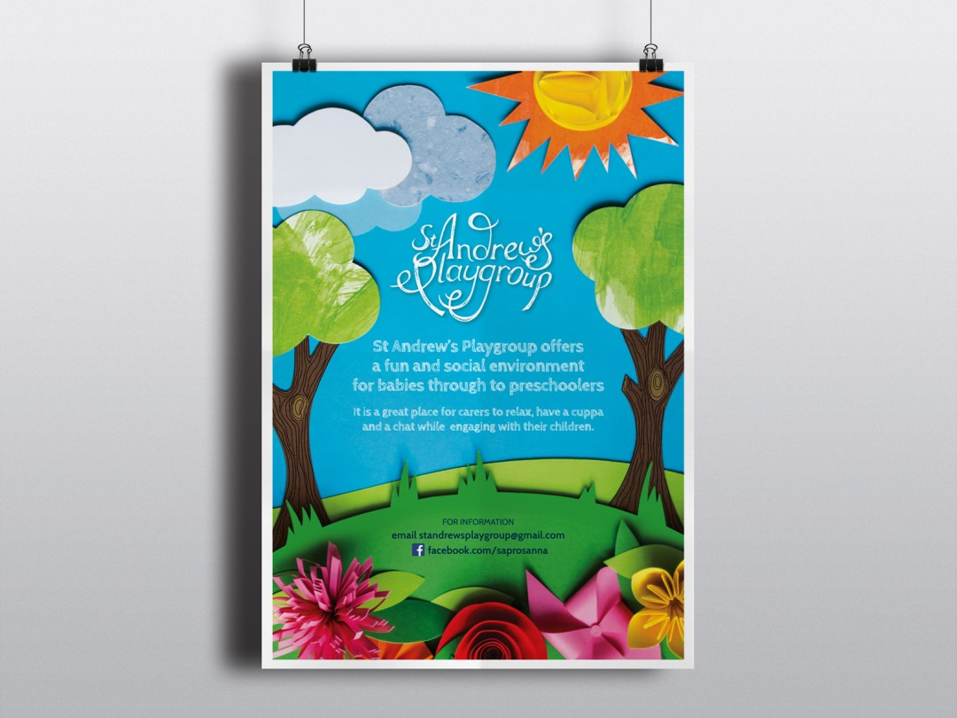 St Andrew's Playgroup - Promotional Poster