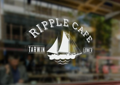Ripple Cafe – A logo design with historical inspiration