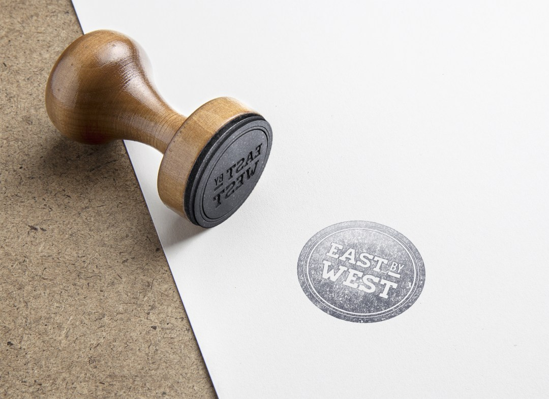 A rubber stamp is a low cost way for New Business to build their branding