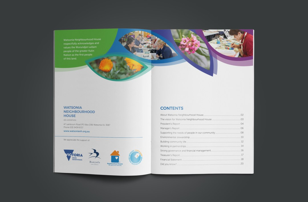 Watsonia Neighbourhood House Annual Report