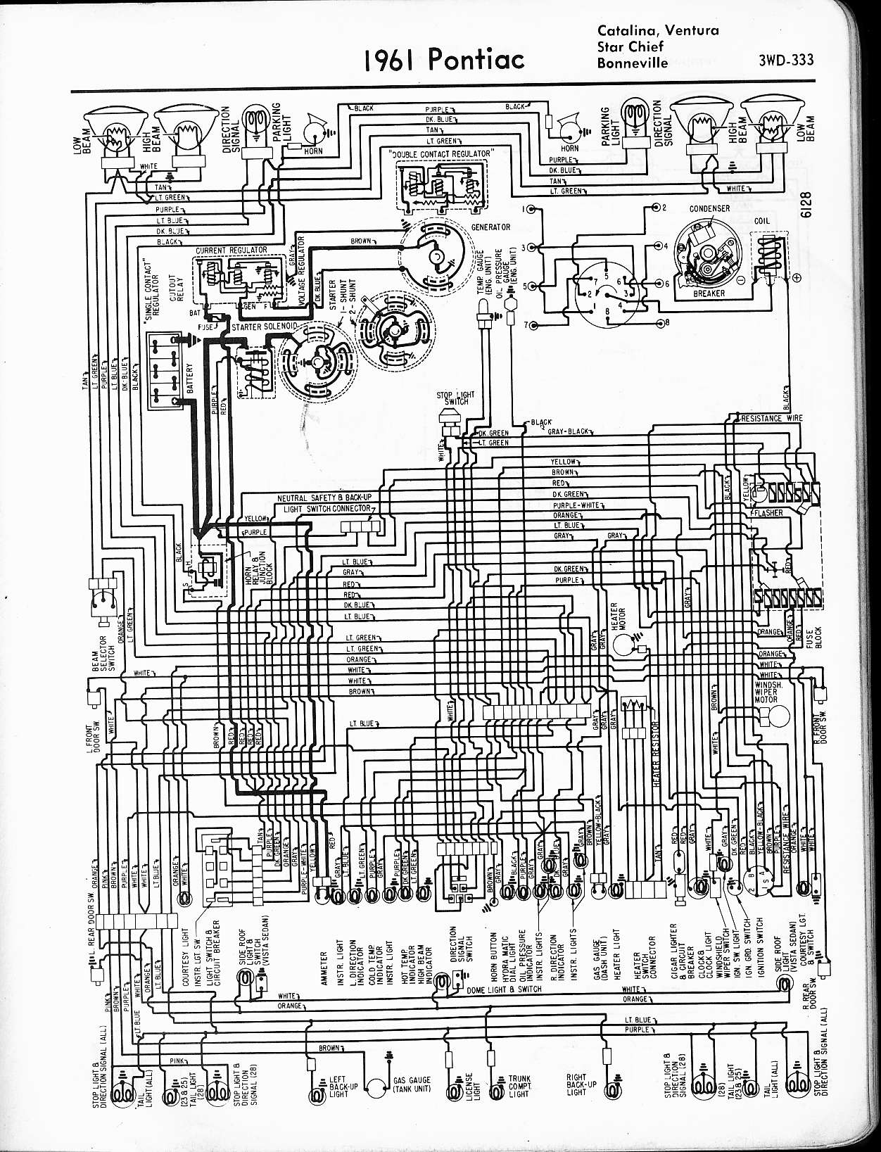 hight resolution of 1961 catalina star chief ventura bonneville wiring