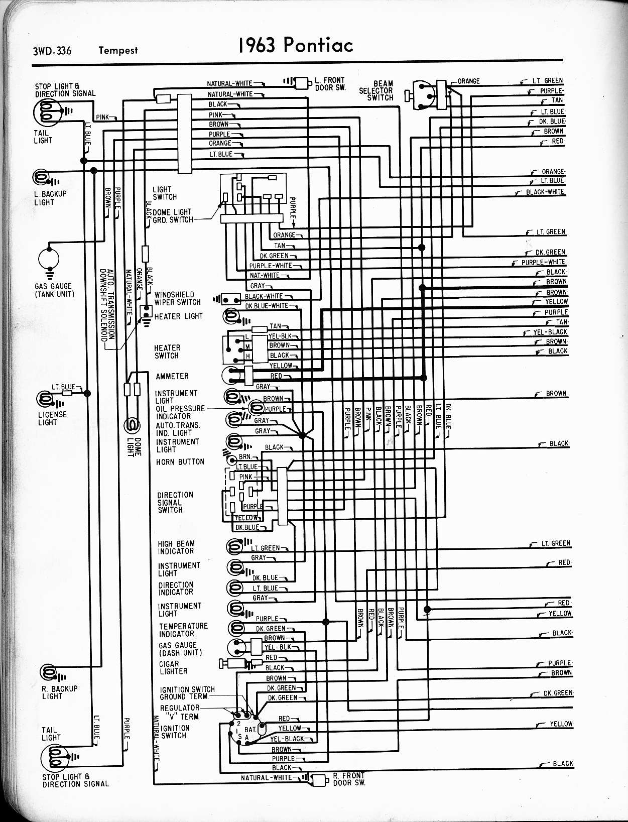 hight resolution of 1963 tempest wiring left page