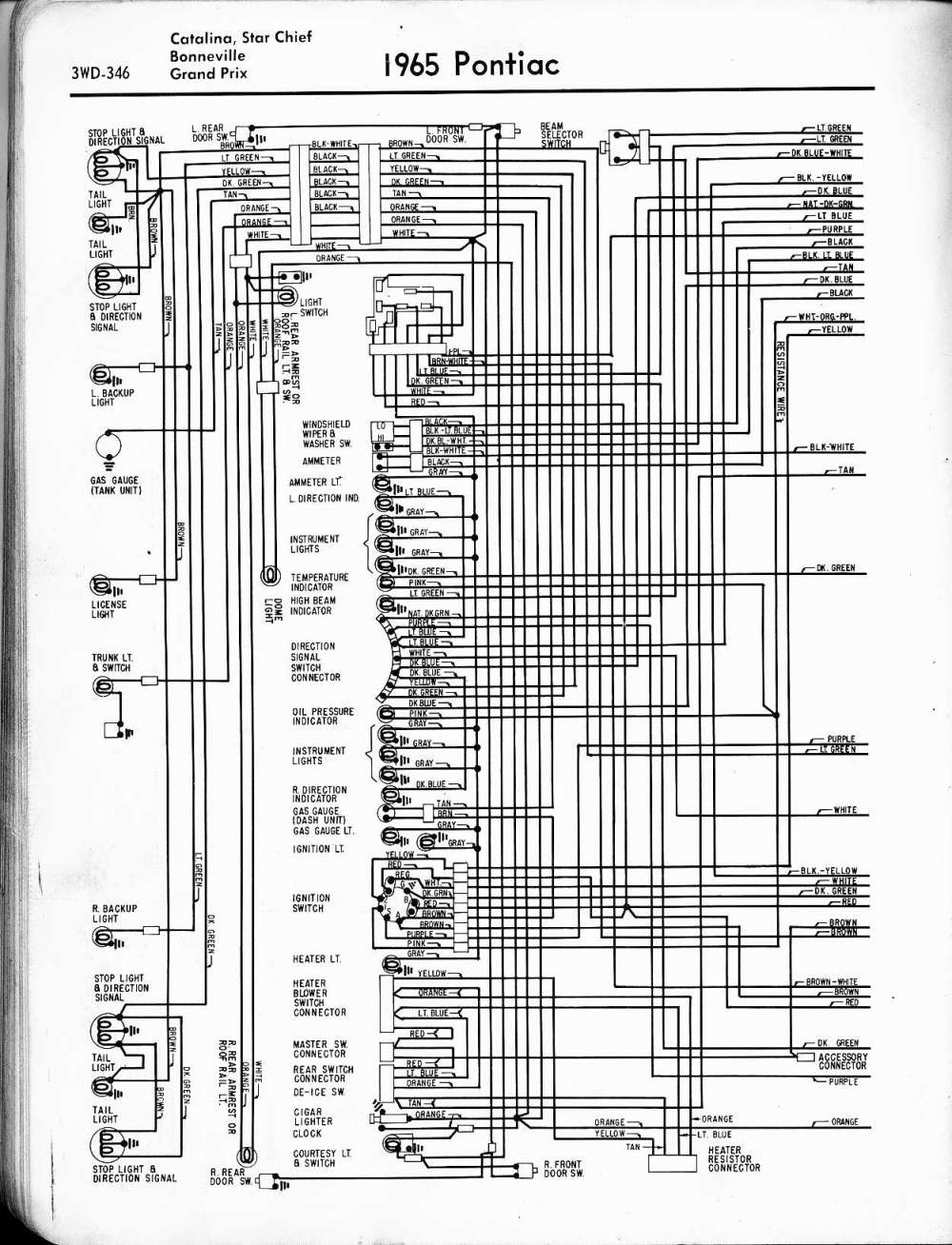 medium resolution of 1967 pontiac wiring diagram