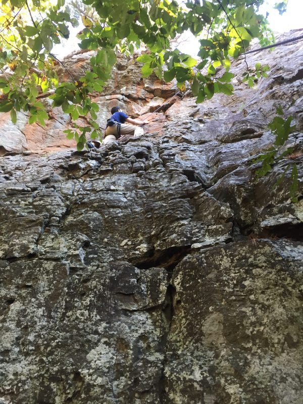 Rock Climbing Route Mind Of Engineer - Wallace Engineering