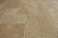French Pattern Travertine Tile - Tile Design Ideas