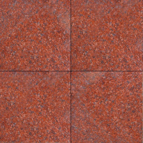 Buy 12X12 New Imperial Red Polished  Wallandtilecom