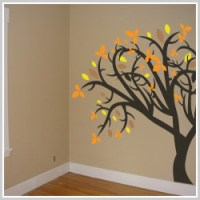 Holiday removable vinyl wall stickers and temporary ...
