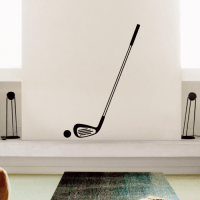 Golf Club Wall Sticker