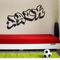 Graffiti Writing Sticker | Names For Walls | Easy To Stick