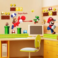 Super Mario wall stickers - Wall Art Ideas
