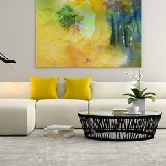 Modern Living Room Canvas Art Dark Blue Couch In 16 Masterful Ideas Wall Prints Mellow Yellow