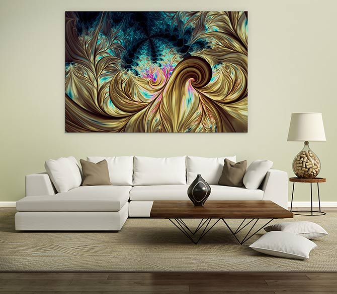 painting for living room feng shui best ceiling fan large india 15 harmonious tips beginners wall art prints sofa
