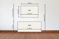 Interior Design 101: How To Hang Pictures | Wall Art Prints
