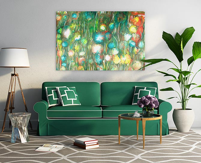 emerald home decor
