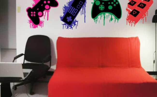 Gamer Wall Art Stickers Gaming Wall Art Stickers Wall