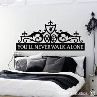 Headboard Wall Art Stickers
