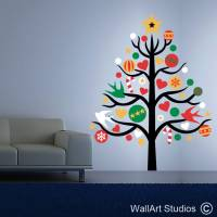 Wall Christmas Decorations Uk