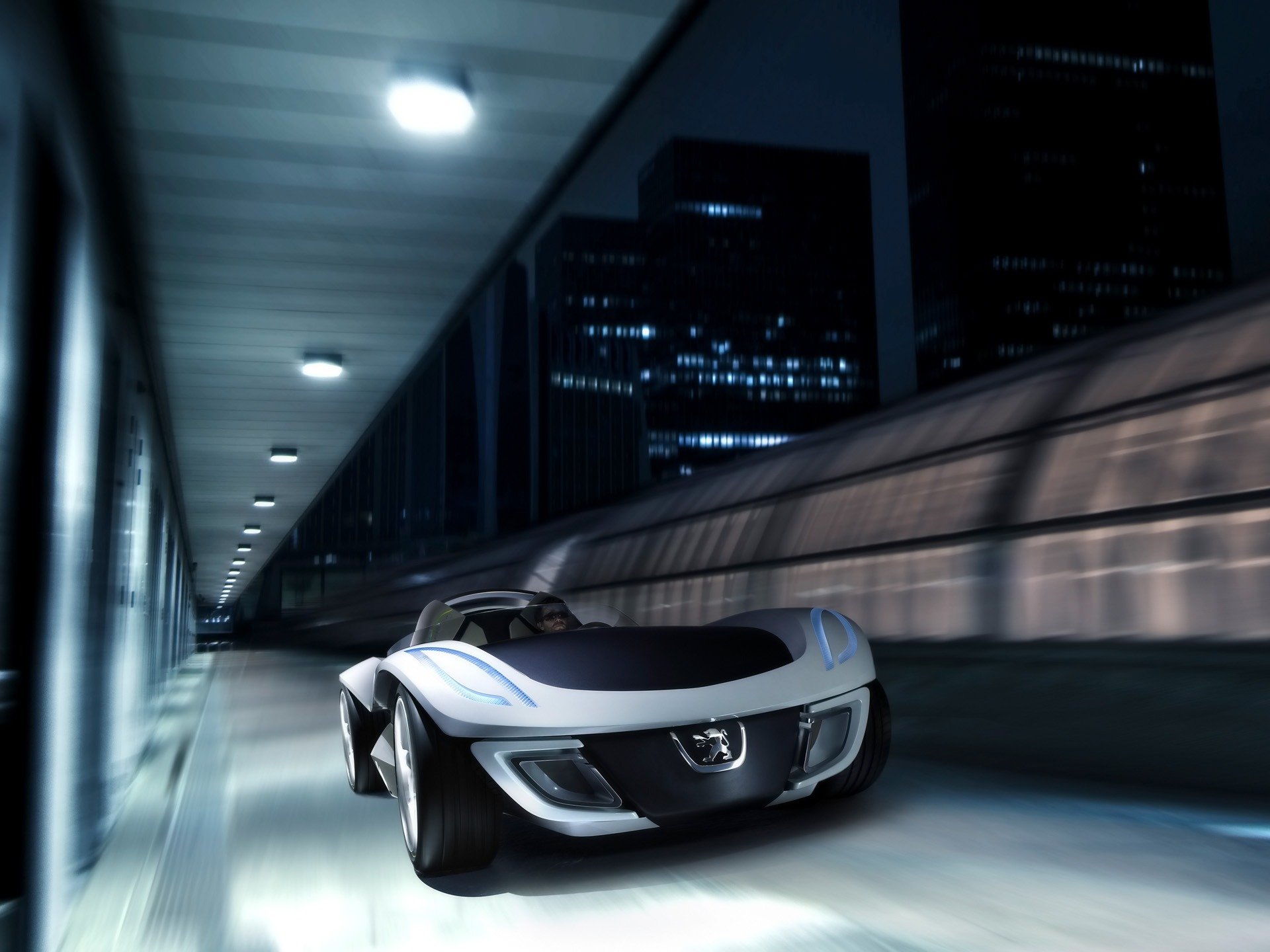 Peugeot Flux Concept 2007 Wallpaper Concept Cars Wallpaper