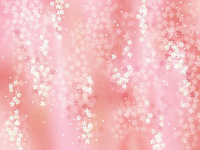 Wallcoo Cute Wallpaper Dreamy Sweet Floral Background 1920 1600 【和風・和柄・日本的