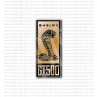 From $4.50 Buy Ford Shelby GT500 Racing Sticker at Print ...