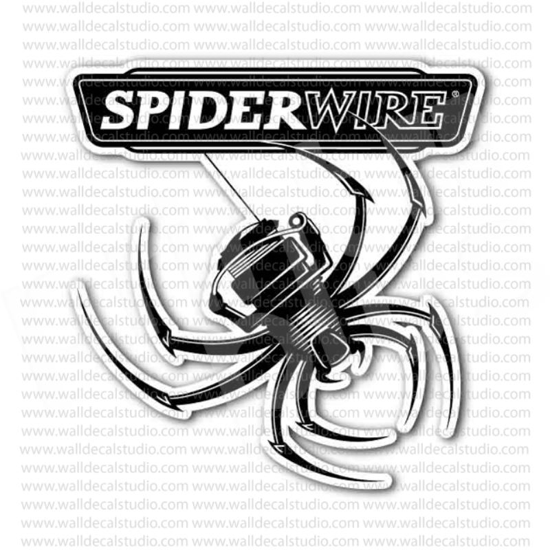From $4.00 Buy Spiderwire Fishing Gear Emblem Sticker at