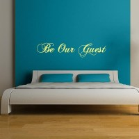 Be Our Guest Wall Decal   Wall Decal World