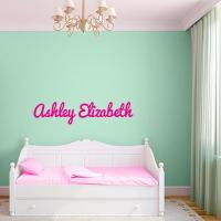 Custom Name Wall Decal | Wall Decal World