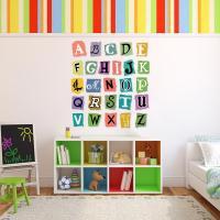 Alphabet Wall Decal Set | Wall Decal World