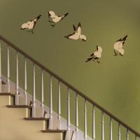 bird wall decals  Roselawnlutheran