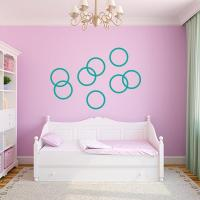 Circles Wall Decals | Wall Decal World