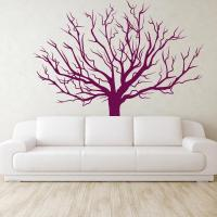 Winter Tree Wall Stickers | Large Tree Vinyl Wall Decal