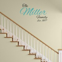 Family Established Wall Decal   Wall Decal World