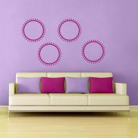 Dotted Circle Wall Decal | Wall Decal World