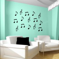 Music Note Wall Decals | Music Note Wall Decor