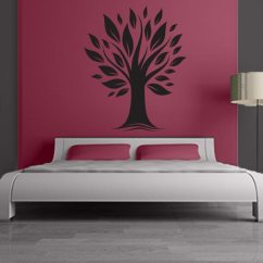 Wall Stickers Living Room Bobs Furniture Sets Tree Decals For Large Modern Decal