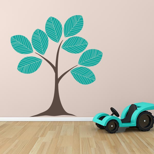 living room tree carpet rugs decals for large wall stickers leaf decal