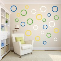Create your own Multi-Size Circle Wall Decal Variety Pack ...