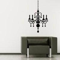 Chandelier Wall Decal | Wall Decal World