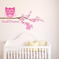 Girl Sweet Dreams Owl Wall Decal | Wall Decal World