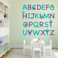 alphabet wall decals  Roselawnlutheran