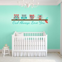 Girl Nursery Wall Stickers | Nursery Wall Decals for Baby Girl
