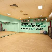 Fitness Wall Decals | Inspirational Quotes Wall Decal