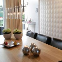 Wall Paneling using MDF Wood Paneling - Cloe Design