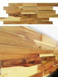 Wood Wall Paneling - Acacia Real Wood Panels for Interior ...